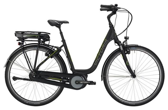 E-Bike Victoria eTrekking 5.9 SE H Deep black matt/limegreen 2019