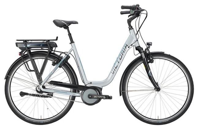 E-Bike Victoria eTrekking 5.7 SE Deep silvergrey/lightblue 2019