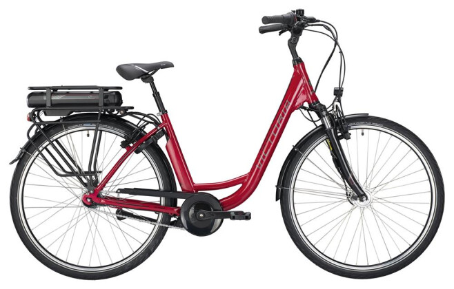 E-Bike Victoria eClassic 3.1 Deep berry/black 2019
