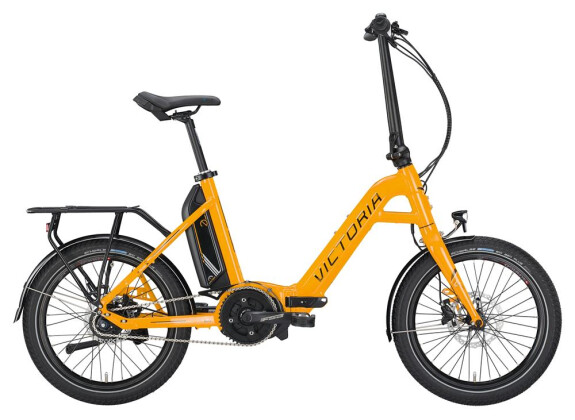 E-Bike Victoria eFolding 7.4 Unisex melonyellow/black/coolgrey 2019