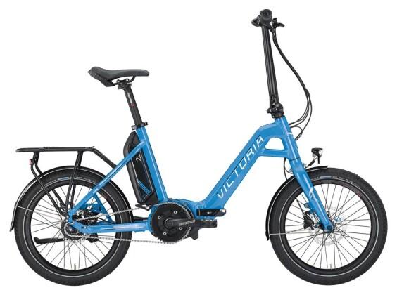 E-Bike Victoria eFolding 7.4 Unisex skyblue/white/black 2019