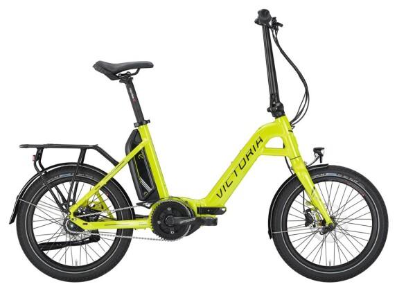 E-Bike Victoria eFolding 7.3 Unisex lime/black/coolgrey 2019