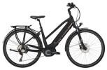 E-Bike Victoria eTrekking 12.8 Trapez black matt/red
