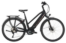 E-Bike Victoria eTrekking 12.8 Trapez black matt/red