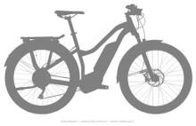 E-Bike Haibike SDURO Trekking 7.0 Damen
