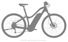 E-Bike Haibike SDURO Cross 1.0 Damen