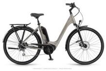 E-Bike Winora Sinus Tria 8 Sandstein Einrohr