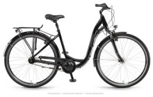 Citybike Winora Holiday N7 Schwarz Wave