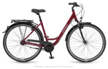 Citybike Winora Hollywood Bordeauxrot
