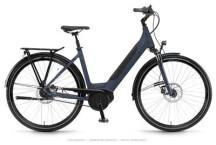 E-Bike Winora Sinus iR8 Modernblue Einrohr