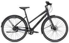 Citybike FALTER U 7.0 Trapez schwarz/blau Matt