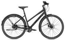 Citybike FALTER U 8.0 Trapez schwarz/silber Matt