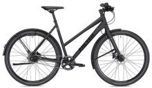Citybike FALTER U 6.0 Trapez schwarz/grün Matt