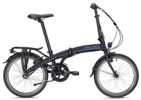 Faltrad Falter F 3.0 Deluxe unisex schwarz/blau