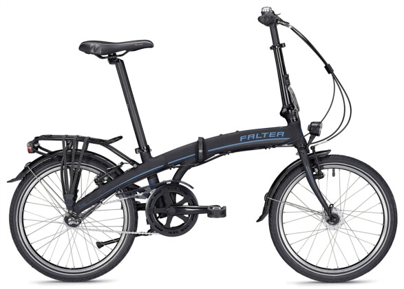 Faltrad Falter F 3.0 Deluxe unisex schwarz/blau 2019