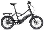 E-Bike Falter E-COMPACT 1.0 unisex schwarz matt