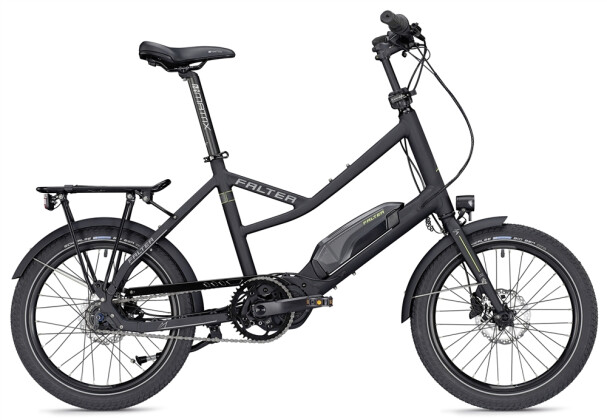 E-Bike Falter E-COMPACT 1.0 unisex schwarz matt 2019
