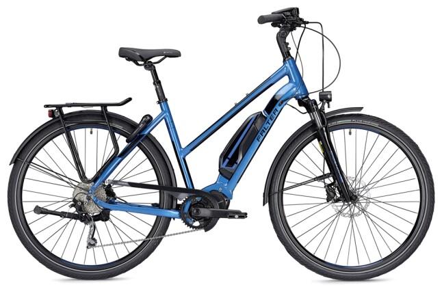 E-Bike Falter E 8.9  Trapez blau/schwarz 2019