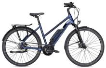 E-Bike FALTER E 9.0 RT 400 Wh Trapez blau/schwarz