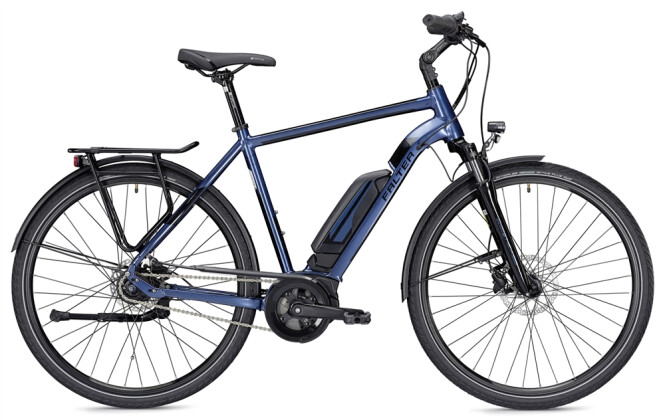 E-Bike Falter E 9.0 RT 400 Wh Herren blau/schwarz 2019