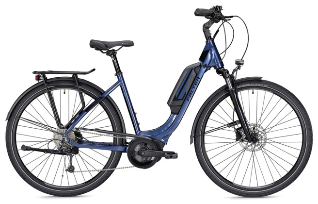E-Bike Falter E 9.0 RD 400 Wh Wave blau/schwarz 2019