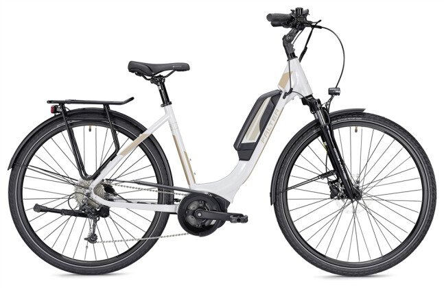 E-Bike Falter E 9.0 RD 500 Wh weiß/champagner 2019