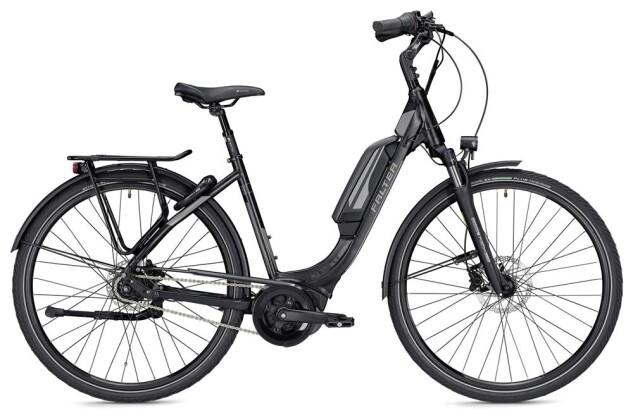 E-Bike Falter E 9.5 RT Wave schwarz/dunkelgrau matt 2019