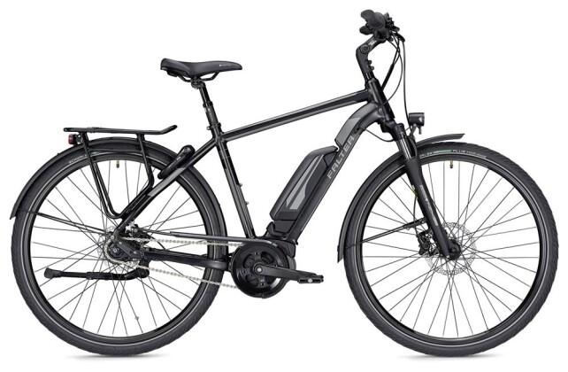 E-Bike Falter E 9.5 FL Herren schwarz/dunkelgrau matt 2019