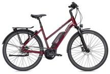 E-Bike FALTER E 9.5 FL Trapez rot/dunkelgrau