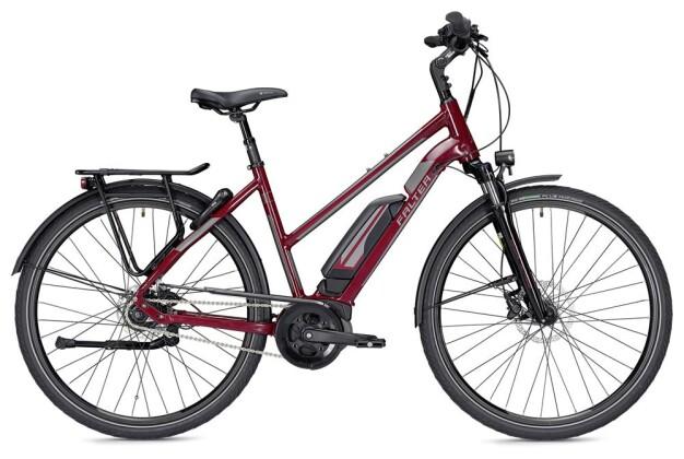 E-Bike Falter E 9.5 RT Trapez rot/dunkelgrau 2019