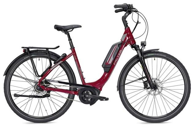 E-Bike Falter E 9.5 RT Wave rot/dunkelgrau 2019