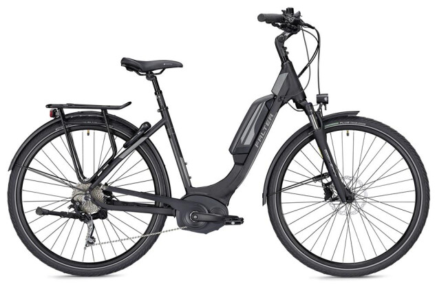 E-Bike Falter E 9.5 RD Wave schwarz/dunkelgrau matt 2019