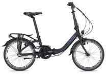 Faltrad Falter F 3.0 Comfort Comfort schwarz/blau
