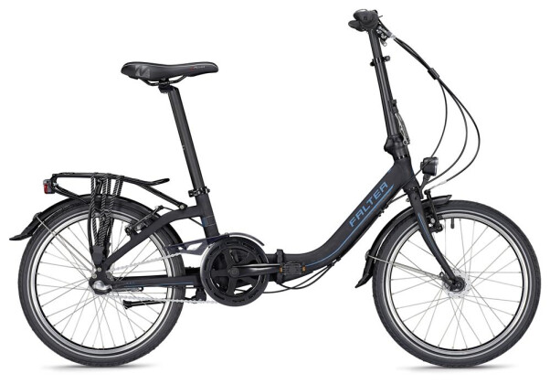 Faltrad Falter F 3.0 Comfort Comfort schwarz/blau 2019