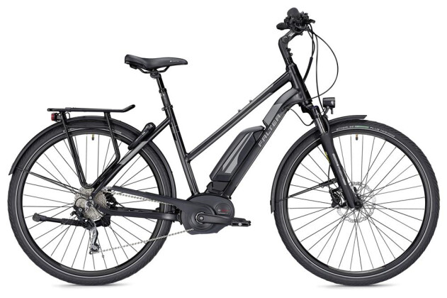 E-Bike Falter E 9.5 RD Trapez schwarz/dunkelgrau matt 2019