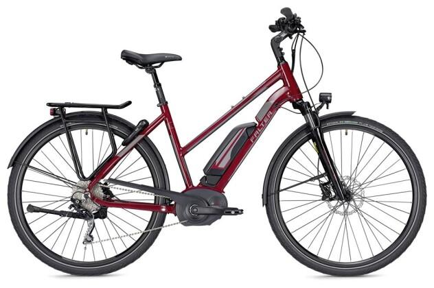 E-Bike Falter E 9.5 RD Trapez rot/dunkelgrau 2019
