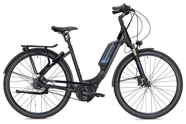 E-Bike Falter E 9.8 FL Wave schwarz/blau matt 2019