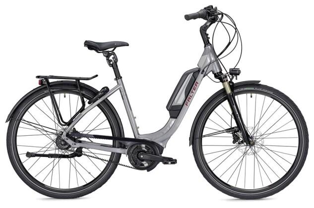 E-Bike Falter E 9.8 RT Wave silber/rot 2019