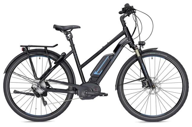 E-Bike Falter E 9.8 RD Trapez schwarz/blau matt 2019