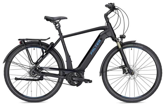 E-Bike Falter E 9.9 FL Herren schwarz/blau matt 2019