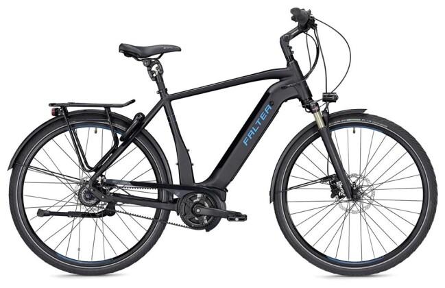 E-Bike Falter E 9.9 RT Herren schwarz/blau matt 2019