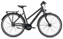 Citybike Falter U 5.0 Trapez schwarz/gelb Matt