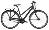 Citybike Falter U 4.0 Trapez schwarz/rot Matt