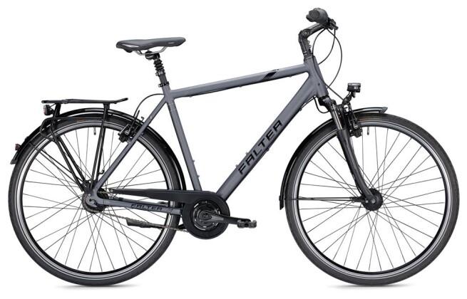Citybike Falter C 6.0 Herren anthrazit/schwarz Matt 2019