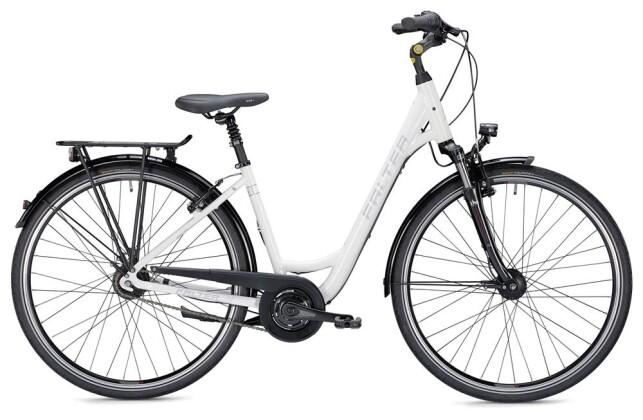 Citybike Falter C 5.0 Wave weiß/silber 2019
