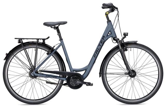 Citybike Falter C 5.0 Wave blau/schwarz Matt 2019