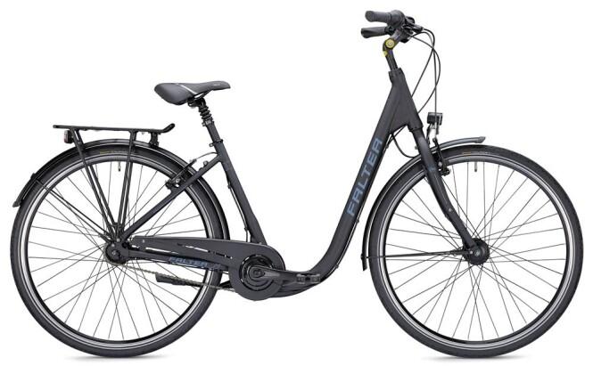 Citybike Falter C 4.0 Comfort schwarz/blau 2019
