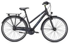 Citybike Falter C 4.0 Trapez schwarz/blau