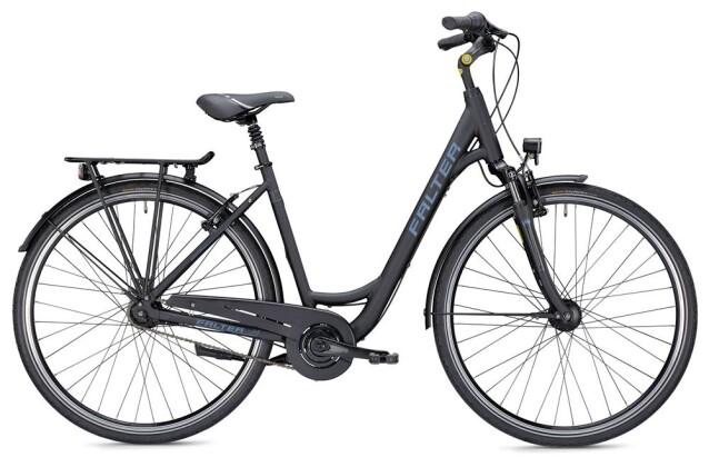 Citybike Falter C 4.0 Wave schwarz/blau 2019