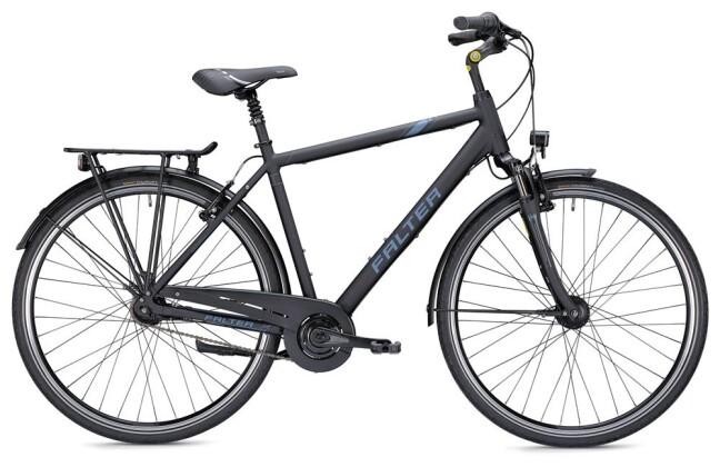 Citybike Falter C 4.0 Herren schwarz/blau 2019